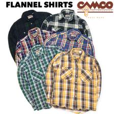 CAMCO MFG ダブルフェイス ヘビー フランネルシャツ画像