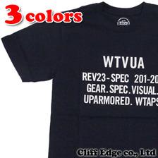 WTAPS WTVUA TEE画像