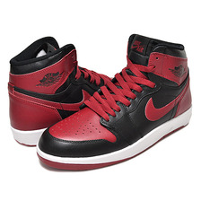 "NIKE AIR JORDAN 1 HI THE RETURN BG ""BRED"" blk/blk-g.red-wht 768862-001画像"
