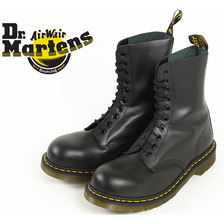Dr.Martens 1919 10EYE STEEL TOE BOOT BLACK画像