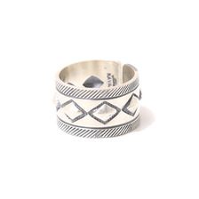 hobo Cobblestone Silver Ring Narrow by STANLEY PARKER HB-A2301画像