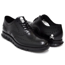 COLE HAAN × mastermind JAPAN ZEROGRAND WING OX BLACK SKULL C22081画像