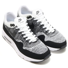 NIKE AIR MAX 1 ULTRA FLYKNIT WHITE/BLACK-BLACK 843384-100画像
