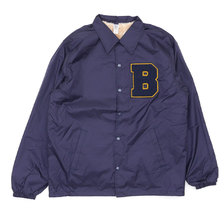 THE BINGO BROTHERS Chenille B Logo Coach Jacket画像