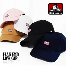 BEN DAVIS FLAG EMB LOW CAP BDW-9433E画像