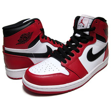 NIKE AIR JORDAN 1 RETRO HI OG wht/v.red-blk 332550-163画像