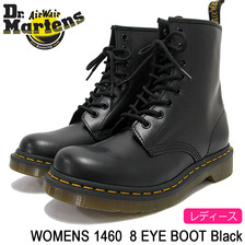 Dr.Martens WOMENS 1460 8 EYE BOOT Black R11821006画像