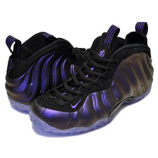 "NIKE AIR FOAMPOSITE ONE ""Eggplant"" black/varsity purple 314996-008画像"