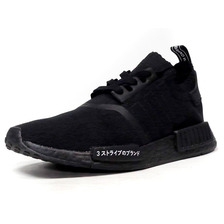 """adidas NMD R1 PK """"JAPAN PACK"""" """"LIMITED EDITION"""" BLK/BLK BZ0220画像"""