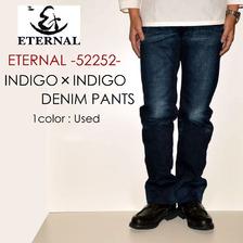 ETERNAL インディゴ×インディゴデニムパンツ 52252画像