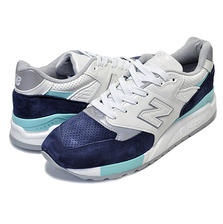 new balance M998WTP WHITE/NAVY MADE IN U.S.A.画像