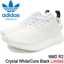 adidas NMD R2 Crystal White/Core Black Originals BY9914画像