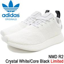adidas NMD R2 Crystal White/Core Black Originals BY9914画像