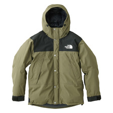 THE NORTH FACE MOUNTAIN DOWN JKT BURNT OLIVE ND91737画像