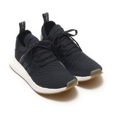 adidas Originals NMD_R2 PK Core Black/Core Black/Core Black BY9696画像