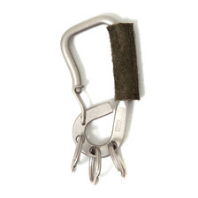 hobo Brass Carabiner with Cow Leather (Brass Carabiner with Cow Leather HB-A2703画像
