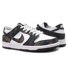 NIKE SB ZOOM DUNK LOW PRO LEGION GREEN/LEGION GREEN 854866-331画像
