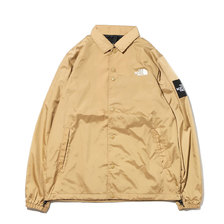 THE NORTH FACE THE COACH JACKET BEIGE NP21836-KT画像