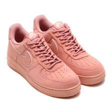 NIKE AIR FORCE 1 '07 LV8 SUEDE RED STARDUST/RED STARDUST-DRAGON RED AA1117-601画像