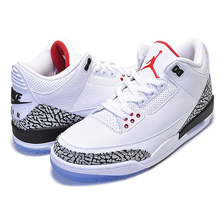 "NIKE AIR JORDAN 3 RETRO NRG ""DUNK CONTEST"" ""WHITE/CEMENT"" white/fire red-cement grey 923096-101画像"