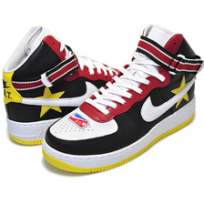NIKE LAB AIR FORCE 1 HI / RT gym red/opti yellow-black AQ3366-600画像