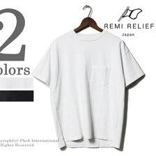 REMI RELIEF 16-TENJIKU PLAIN PK TEE RN1822-9243画像