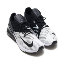 NIKE AIR MAX 270 FLYKNIT WHITE/BLACK-ANTHRACITE AO1023-100画像