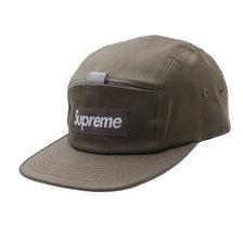 Supreme Reflective Tab Pocket Camp Cap OLIVE画像