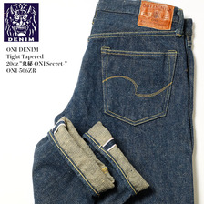 "ONI DENIM Tight Tapered 20oz ""鬼秘-ONI Secret-"" ONI-506ZR画像"