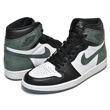 "NIKE AIR JORDAN 1 RETRO HI OG ""ALL THOSE AWARDS"" summit white/clay green-black 555088-135画像"