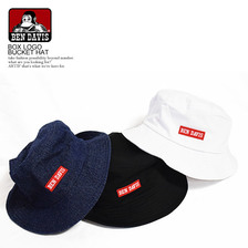 BEN DAVIS BOX LOGO BUCKET HAT BDW-9458画像