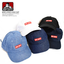 BEN DAVIS BOX LOGO LOW CAP BDW-9456画像