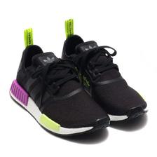 adidas Originals NMD_R1 CORE BLACK/CORE BLACK/SHOCK PURPLE D96627画像