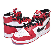 NIKE WMNS AIR JORDAN 1 REBEL XX OG white/black-unversity red AT4151-100画像