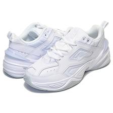 NIKE W M2K TEKNO white/white-pure platinum AO3108-100画像