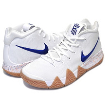 "NIKE KYRIE 4 ""Uncle Drew"" white/deep royal 943806-100画像"