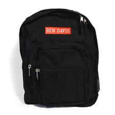 BEN DAVIS BOX LOGO BACKPACK -BLACK/RED- BDW-9232画像
