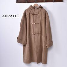 AURALEE BABY CAMEL MOSSER BIG DUFFLE COAT A8AC01MB画像