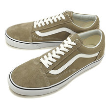 VANS OLD SKOOL DESERT TAUPE/TRUE WHITE VN0A38G1U63画像