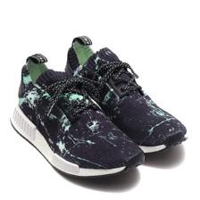 adidas Originals NMD R1 PK CORE BLACK/RUNNING WHITE/AERO GREEN BB7996画像