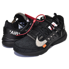 THE 10 : NIKE AIR PRESTO Off-White black/white-cone AA3830-002画像