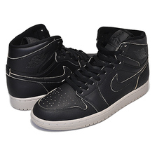 NIKE AIR JORDAN 1 RETRO HIGH PREMIUM black/black-desert sand AA3993-021画像