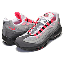 NIKE AIR MAX 95 OG white/solar red-granite-dust AT2865-100画像