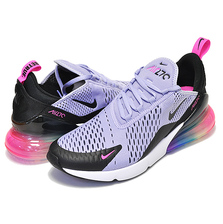 NIKE AIR MAX 270 BETRUE purple dawn/black-pink blast AR0344-500画像