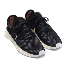 adidas Originals DEERUPT RUNNER CORE BLACK/CORE BLACK/ASH PEARL B41758画像