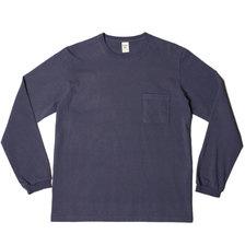 Jackman Pocket L/S T-shirt Classic Navy JM5645画像