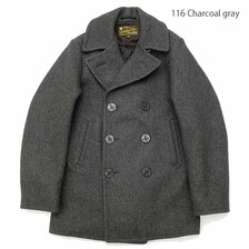 UNITED CARR 26oz WOOL MELTON PEA COAT UC14231画像
