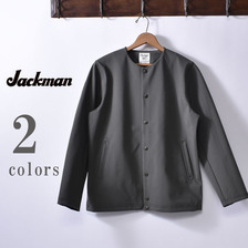 Jackman JM8955 Jersey Collarless Jacket画像