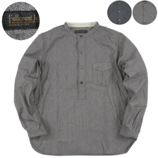 FULLCOUNT EARLY 20TH PULLOVER CHAMBRAY WORK SHIRTS 4009画像