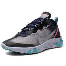 """NIKE REACT ELEMENT 87 """"LIMITED EDITION for NONFUTURE"""" GRY/BLK/ORG/E.GRN AQ1090-005画像"""